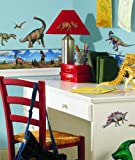 Dinosaurs Peel & Stick Border Wall Decal 5 x 180in