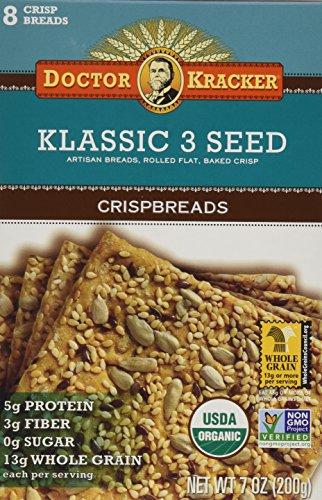 Doctor Kracker Klassic Organic Crispbreads product image