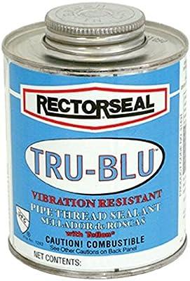 Rectorseal 31303 Quart Brush Top Tru-Blu Pipe Thread Sealant Standard Plumbing Supply