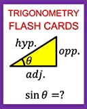 img - for Trigonometry Flash Cards: Memorize Values of Trig Functions (sin, cos, tan) from 0 to 360 Degrees book / textbook / text book