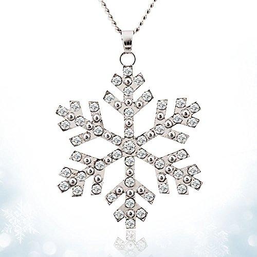 Girl's Gift Frozen Snowflake Elsa Pendants Necklace Jewelry