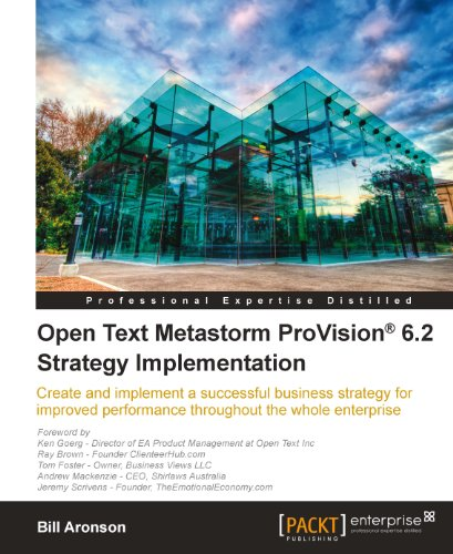 Download Open Text Metastorm ProVision® 6.2 Strategy Implementation Pdf