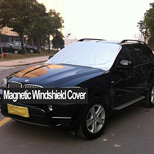 51127112 Amazon.com: TC-Home Powerful Magnetic Car Frost Guard Windshield Snow Cover  Protector Shield for Most Cars (163 x 96 cm) w/Storage Bag: Car Electronics