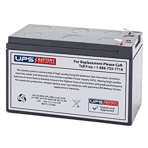 Yuasa NPW36-12 12V 7.2Ah F2 Compatible Replacement Battery by UPSBatteryCenter