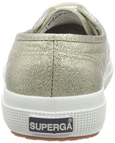 Grün Mujer Superga2750 Lame Platinum Zapatillas qvwtp7R