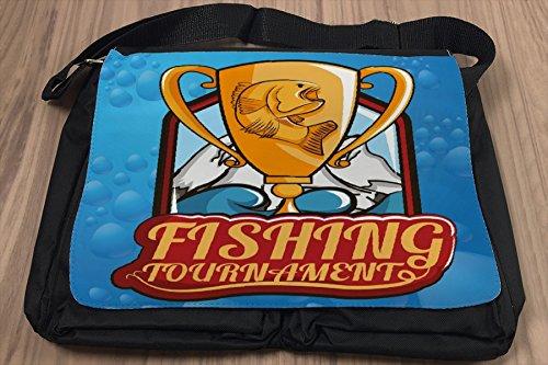 Borsa Tracolla Ristorante Di Cucina Torneo di pesca Stampato
