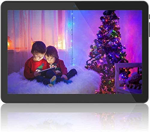 "Tablet 10 inch Android, 10.1"" 5G WiFi Tablets,6000mAh Battery,Quad-Core Processor, 800x1280 Touch Screen Full HD Display,1.3GHz,16GB, Bluetooth,Black"