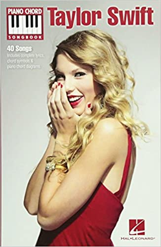 Swift Taylor Piano Chord Songbook Pf Chord Bk Piano Chord Songbooks