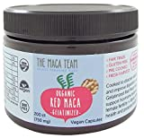 Raw Red Maca Root Powder - Certified Organic, Fair Trade, Gmo-free, Fresh Harvest From Peru, Gluten Free Vegan and Raw, 8 Oz