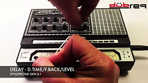 STYLOPHONE GEN X-1 Portable Analog Synthesizer: with Built-in Speaker, Keyboard and Soundstrip, LFO, Low pass filter, Envelope, Sub-octaves & Delay - Image 4