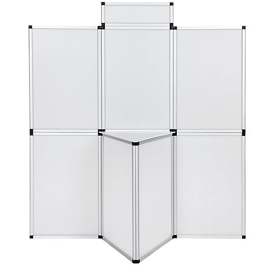 4 opinioni per TecTake Parete promozionale Pannello espositore parete divisoria per ufficio