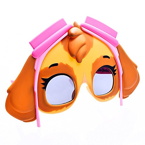 Sun-Staches Costume Sunglasses Skye Paw Patrol Party Favors ()