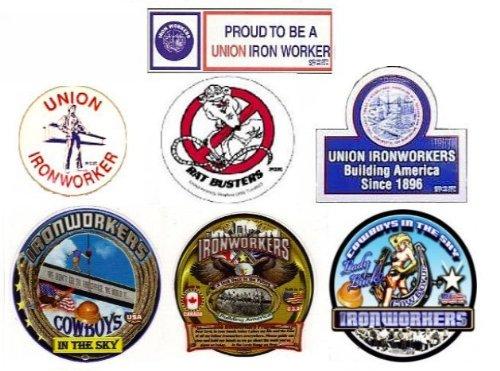 Hardhat Sticker Mix #03 Ironworker Premium Mix