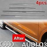 Chrome Side Door Molding Trim Exterior 4 pcs/set for 2012 2013 Audi Q3