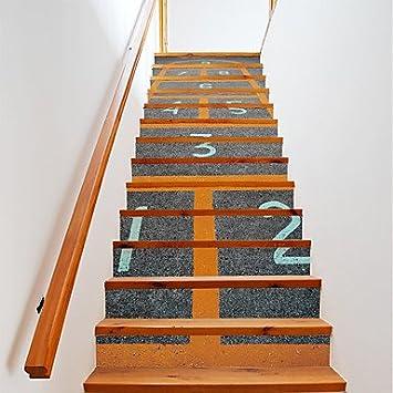 Hy Gg 13 Stk Set Diy 3d Treppe Aufkleber Springen Haus Treppen
