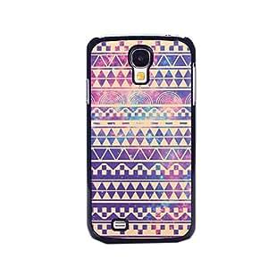 EVERMARKET(TM) Hipstr Nebula & white Aztec Andes Tribal Pattern Hard Case Cover for Samsung Galaxy S4 S IV I9500
