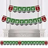 football birthday party - End Zone - Football - Birthday Party Bunting Banner - Sports Party Decorations - Happy Birthday