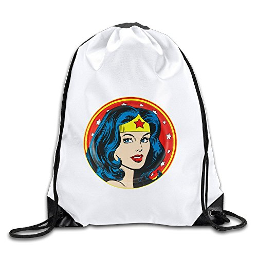 Coreco Wonder Woman Drawstring Backpack Sack - Size Guide Oakley