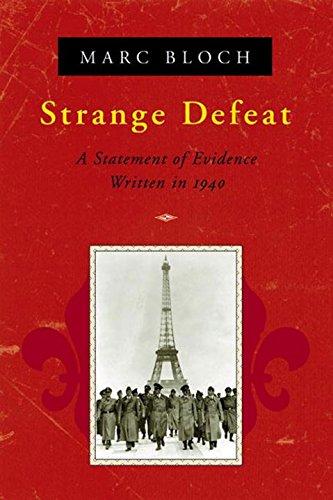 Strange Defeat [Marc Bloch] (Tapa Blanda)
