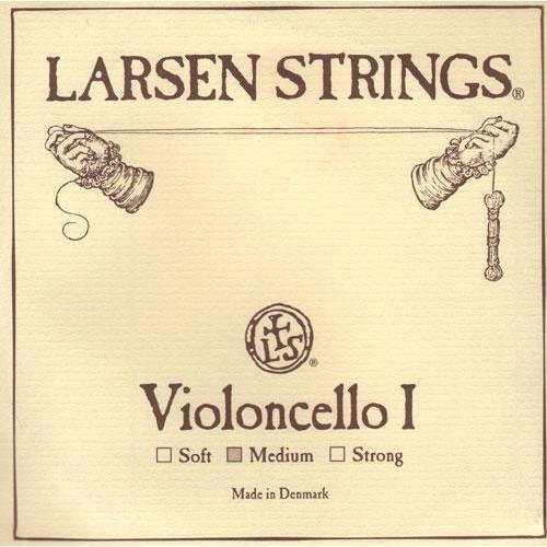 Larsen Cello A-Saite–4/4Größe–Medium Gauge Lar-3904
