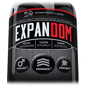 Expandom Male Enhancement Pills- #1 Best Selling Natural Stamina Pill Men. Libido, Drive, Energy, Growth, Power Enhancement Pills - 51pmmWnoW8L - Enhancement Pills