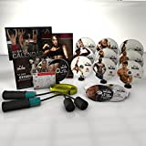 JNL Fusion Complete DVD Fitness Workout Speed Rope