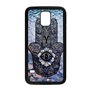 Evil Eye Hamsa The Unique Printing Art Custom Phone Case for SamSung Galaxy S5 I9600,diy cover case ygtg609590