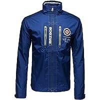 B0GNER Men Lightweight Golf Fitness Jacket Blue