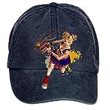 SAMMA Unisex Lollipop Chainsaw Design Adjustable Baseball Hat