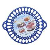 TANGCHU Cake Cooler & Divider Cake Decorating Tools, Diameter: 12.4 Blue