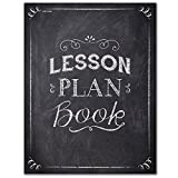 Creative Teaching Press Chalk It Up! Lesson Plan Book, Black/White (1350)