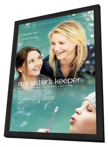My Sister's Keeper 11 x 17 Movie Poster - Style A - in Deluxe Wood Frame