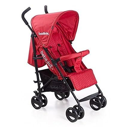 Bebedue - Silla de paseo bebé due goldbaby rojo: Amazon.es: Bebé