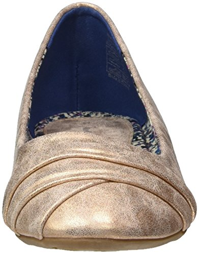 Jane Klain Damen 221 963 Geschlossene Ballerinas Gold (GOLDROSE)