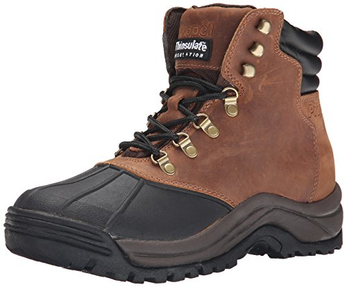Stop Trail Boots (Propet Men's Blizzard Midcut Boot,Brown/Black,10 M US)