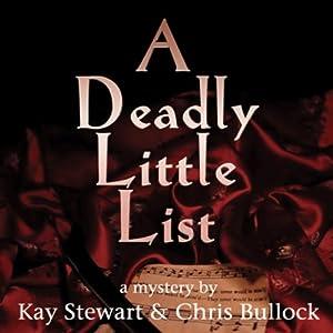 A Deadly Little List Audiobook