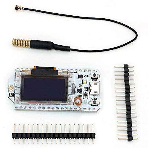 - WINGONEER 433MHz - 470MHz Lora SX1278 Development Board 0.96 OLED Display ESP32 WiFi HTIT Bluetooth Board Development IOT Module for Arduino