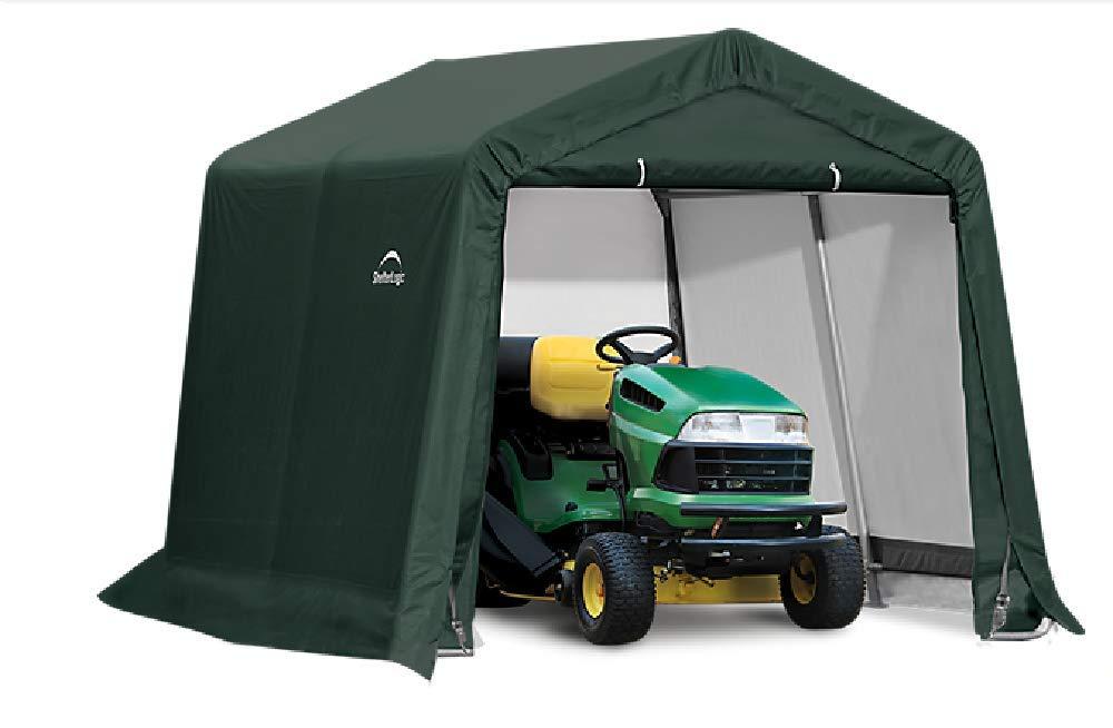 ShelterLogic Replacement Cover Kit 10x10x8 Peak 805134 (14.5oz PVC Green)