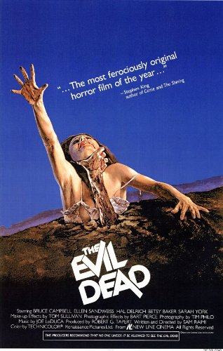- The Evil Dead 11 x 17 Movie Poster