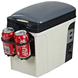 Smad Compact Thermoelectric Car Cooler Travel Warmer,AC 110V/DC 12V, 6L Review