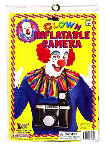Clownin' Around - Clown Inflatable Camera, for 14+ Years -