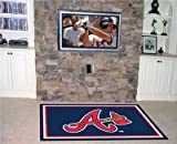 Fan Mats Atlanta Braves Rug, 60'' x 92''
