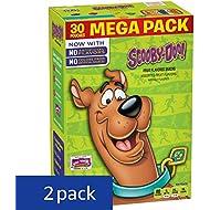 Betty Crocker Fruit Snacks, Scooby-Doo Snacks, 30 Pouches, 0.8 oz Each (Pack of 2)