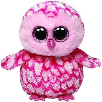 Ty Beanie Boos Pinky Pink Barn Owl Plush