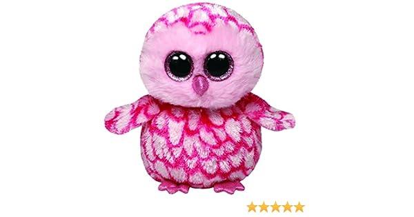 Ty - Pinky, peluche búho, 15 cm, color rosa (36094TY): Amazon.es: Juguetes y juegos