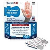 Carpal Aid Carpal Tunnel Syndrome Pain Relief Hand Patch (20 Pack, Large)