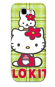 Extragrate BBUPKyt1535Ybtfd Case Cover Skin For Galaxy Note 2 (hello Kitty )/ Nice Case With Appearance