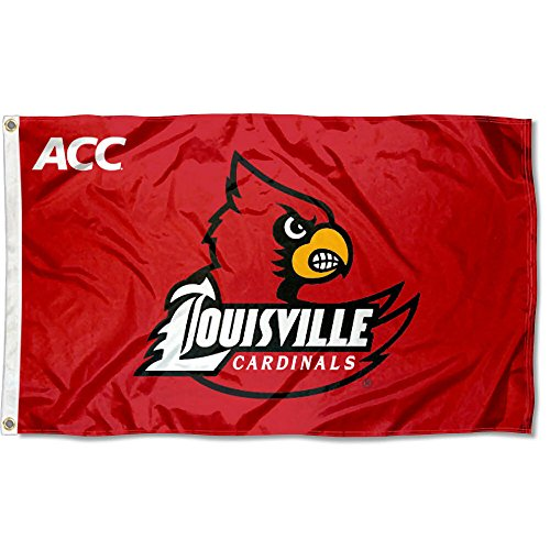 College Flags and Banners Co. Louisville Cardinals ACC 3x5 Flag