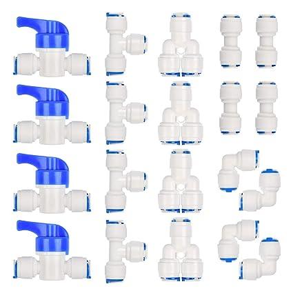 giardini delle erbe. XZANTE Confezione da 100 per aiuole orti sistema di irrigazione a goccia regolabile a 360 gradi per irrigazione a goccia Gocciolatori a goccia ideali per tubi da 4mm//7mm