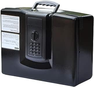 ZZHBXG Cajas Fuertes Mini Cajas Fuertes Portátiles Digitales, Pequeñas Cajas de Seguridad Portátiles para El Hogar Abiertas sobre El Tipo de Cajón Joyas de Caja Fuerte Gabinete Seguro: Amazon.es: Hogar